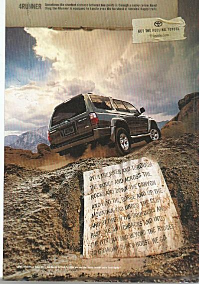 Toyota automobile ad   2002 (Image1)