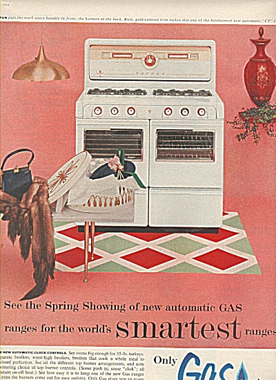 Gas Ranges ad 1955 (Image1)