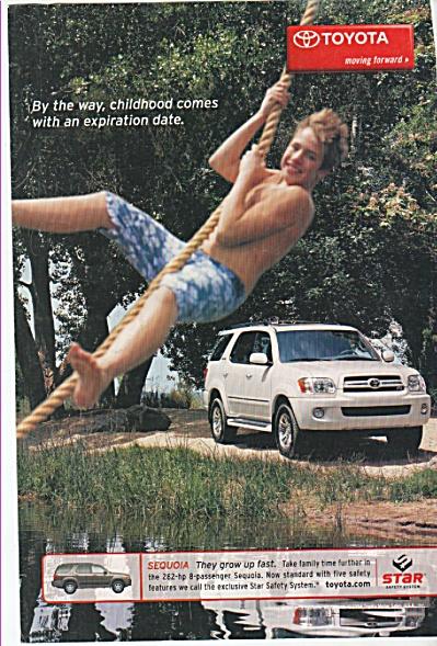 Toyota Sequoia ad 2005 (Image1)