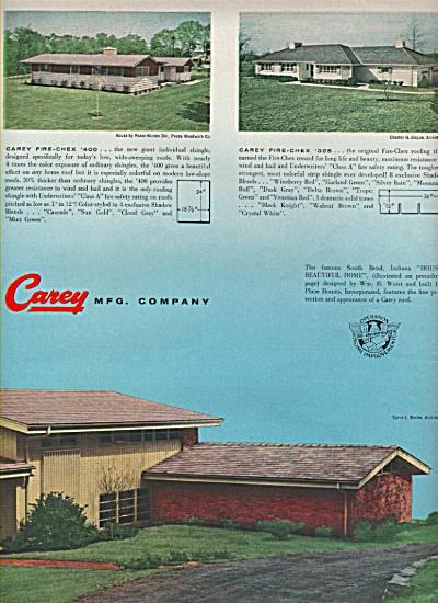 Carey Mfg. Company ads 1956 (Image1)