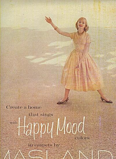Masland carpets ads 1956 (Image1)