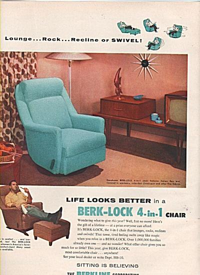 The Berkline corporation ad 1956 (Image1)