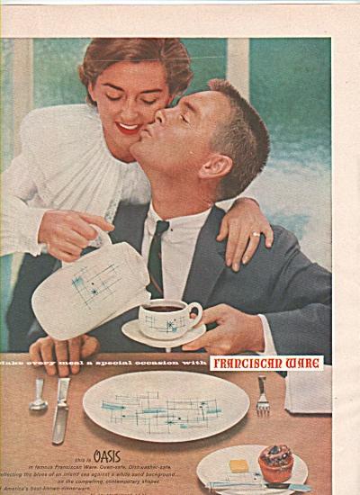 Franciscan ware ad  1956 (Image1)