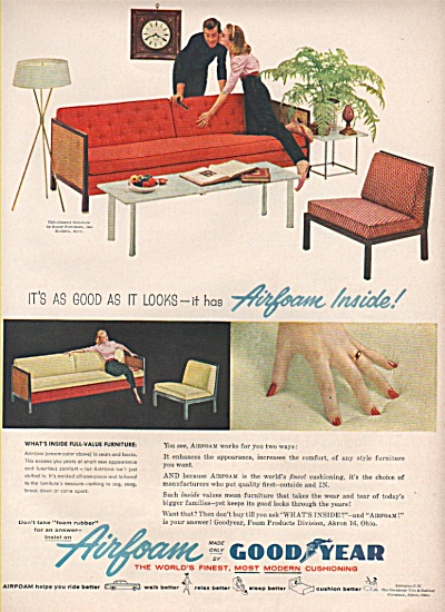 Airfoam by Goodyear ad 1956 (Image1)