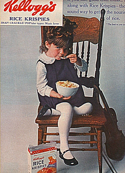 Kellogg's Rice Krispies Ad 1965