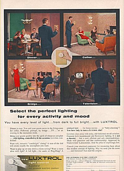 Luxtrol light control ad 1956 (Image1)