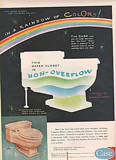 Case manufactduring corp.  Water closet ad 1956 (Image1)