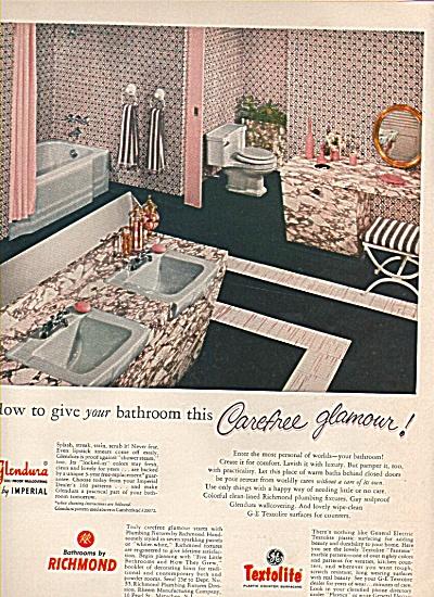 Textolite - Glendura - Richmond ad 1956 (Image1)