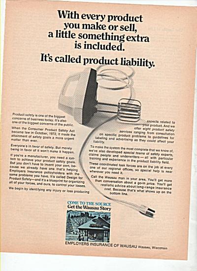 Employers Insurance of Wausau ad 1974 (Image1)