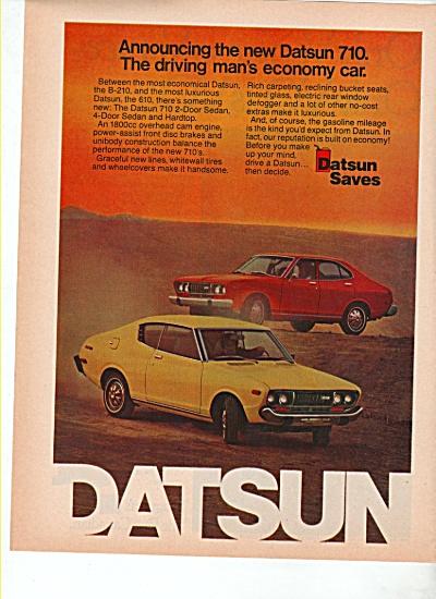 Datsun 710 auto ad 1974 (Image1)