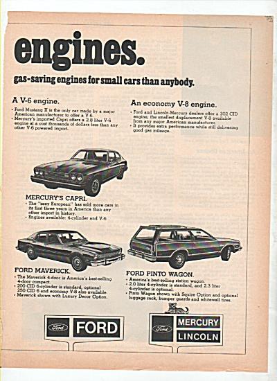 Ford Motor car company ad 1974 (Image1)