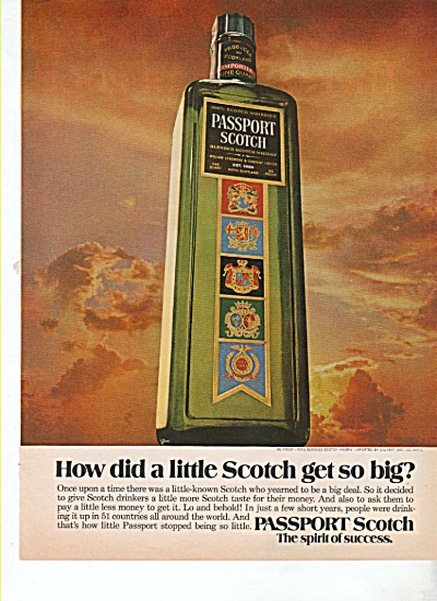 Passport Scotch ad 1974 (Image1)