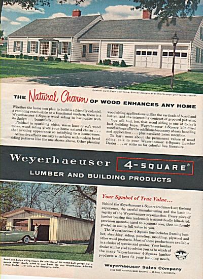 Weyerhaeuser Sales company ad 1959 (Image1)