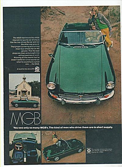 MGB auto ad 1969 (Image1)