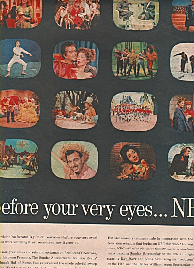 NbC television ads - 1956 (Image1)