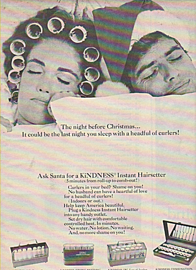 Clairol instant hairsetter ad 1968 (Image1)