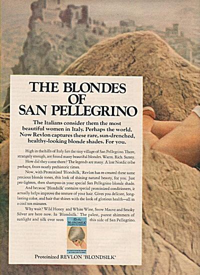 Revlon Blondsilk  ad 1968 (Image1)