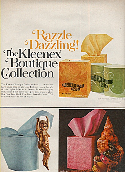 The Kleenex boutique collection ad 1968 (Image1)