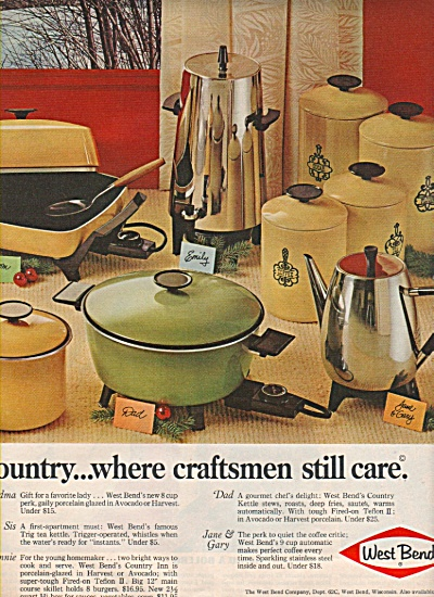 West Bend company ad - 1968 (Image1)