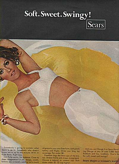 Sears Women's Underclothes Ad 1968
