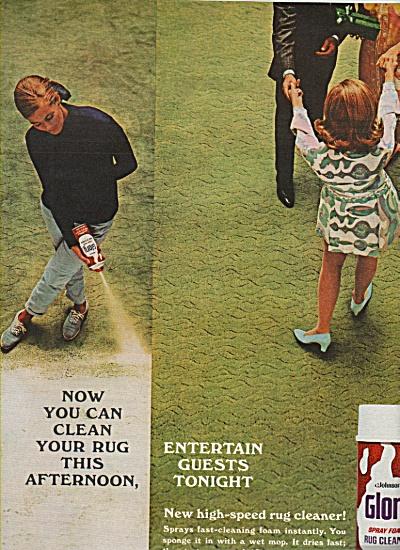 Glory rug cleaner ad 1968 (Image1)