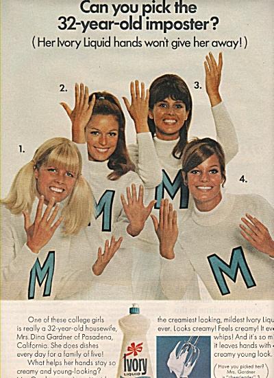 Ivory LIquid ad 1968 (Image1)