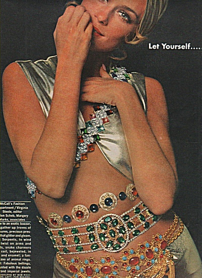 Jewelry display -  Models display spread 1968 (Image1)