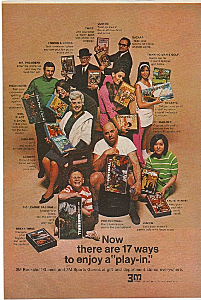 3M bookshelf games ad 1968 (Image1)