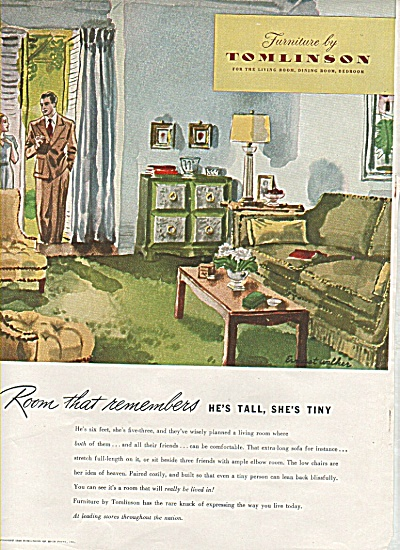 Furniture by Tomlinson ad 1946 (Image1)