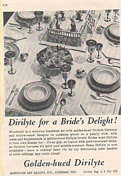 Golden hued Dirilyte ad 1946 (Image1)