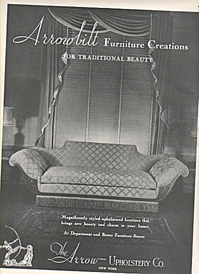 The Arrow upholstery Co. ad 1946 (Image1)