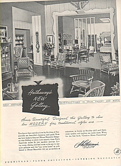 Hathaways new gallery ad 1946 (Image1)
