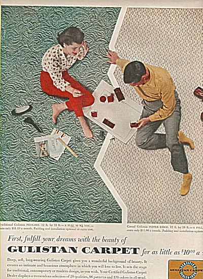 Gulistan carpet ad 1956 (Image1)