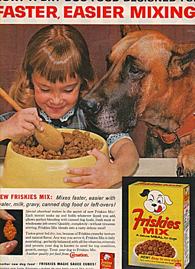 Friskies mix ad 1963 (Image1)