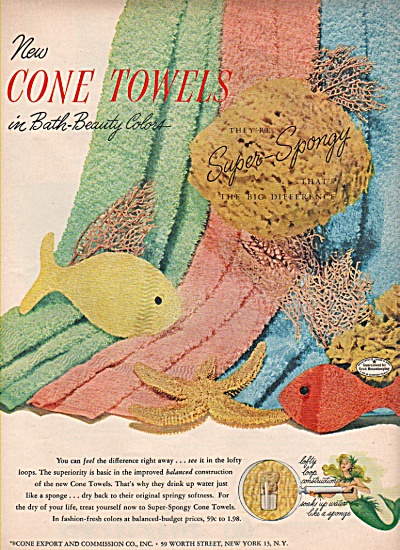 Cone towels ad 1952 (Image1)
