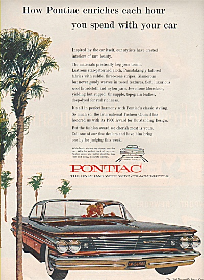 Pontiac Bonneville ad 1960 (Image1)