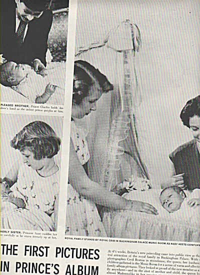 Birth of Prince  Andrew in England - 1960 (Image1)