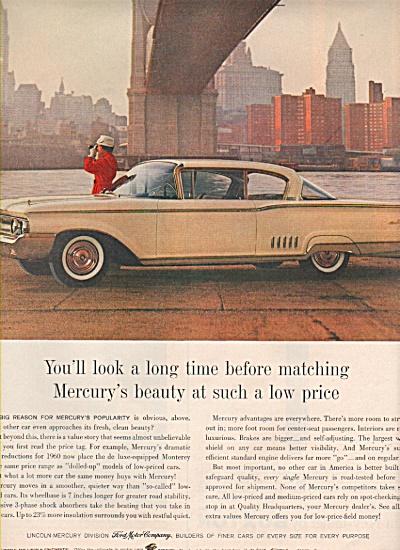 Mercury auto ad 1960 (Image1)