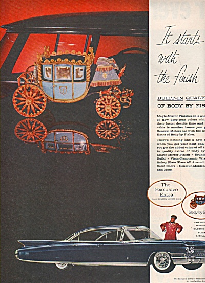 Body by Fisher ad 1960 CINDERALLA CARRIAGE (Image1)