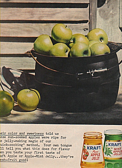 Kraft apple jelly ad 1960- (Image1)