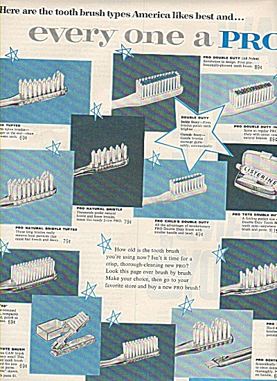 Pro-phy-lac-tic brush co., ad 1960 (Image1)