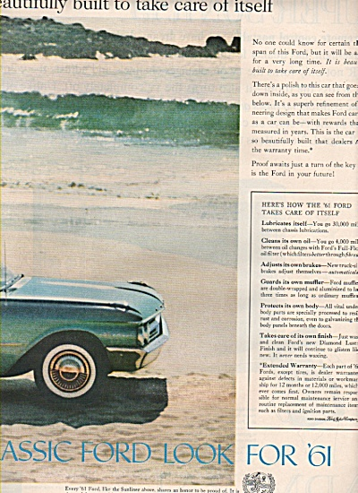 Ford classic for 1961 ad (Image1)