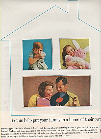 Insured savings and loan associations ad 1961 (Image1)