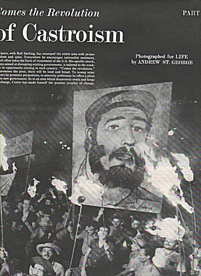 Crisis in Latin America - FIDEL CASTRO  1961 (Image1)