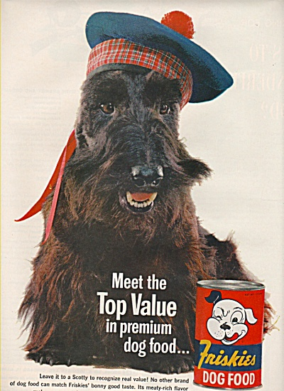 Friskies dog food ad 1961 (Image1)