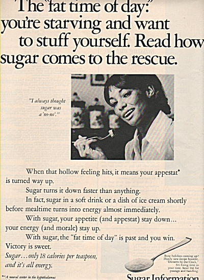Sugar Information Ad 1969