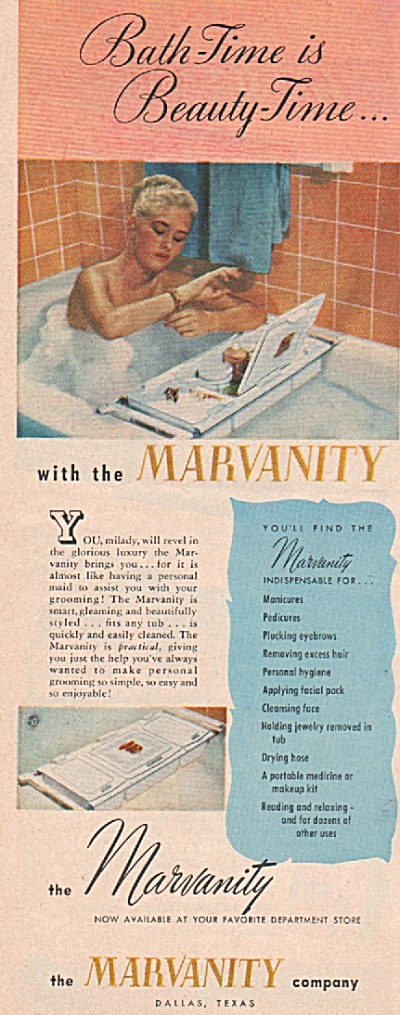 The Marvanty company  - the Marvanity ad 1947 (Image1)