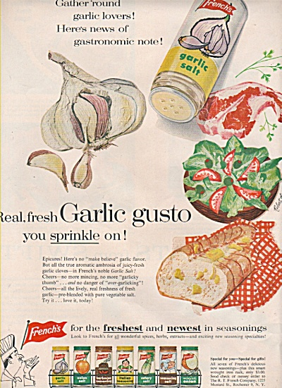 French's garlic salt ad 1957 (Image1)