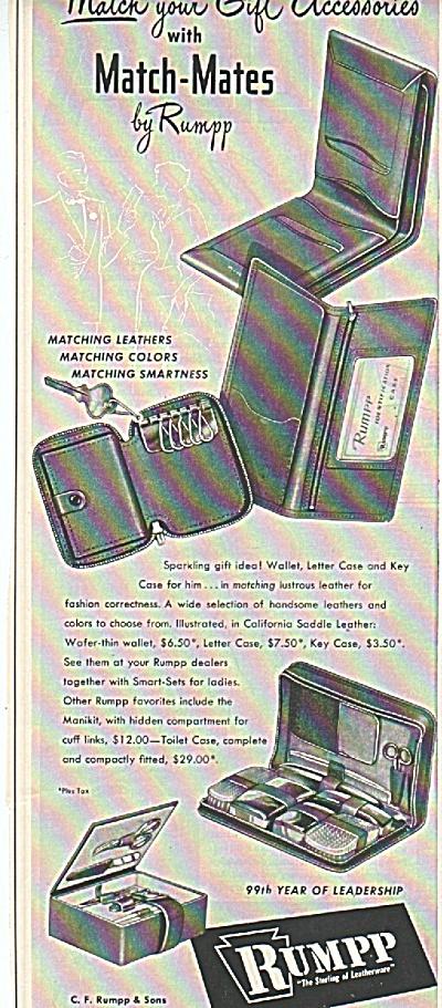 Rumpp match mates ad (Image1)