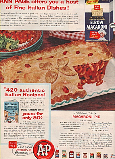 A & P stores ad 1957 (Image1)